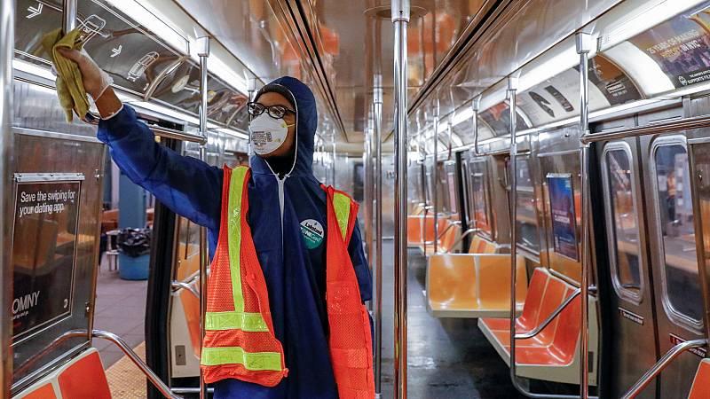 Nueva York, la ciudad que ya duerme por el coronavirus