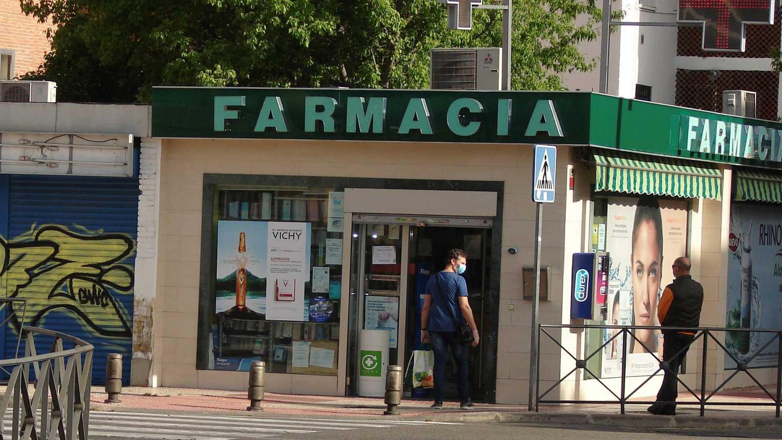 Las farmacias distribuirán mascarillas gratuitas de la Comunidad de Madrid