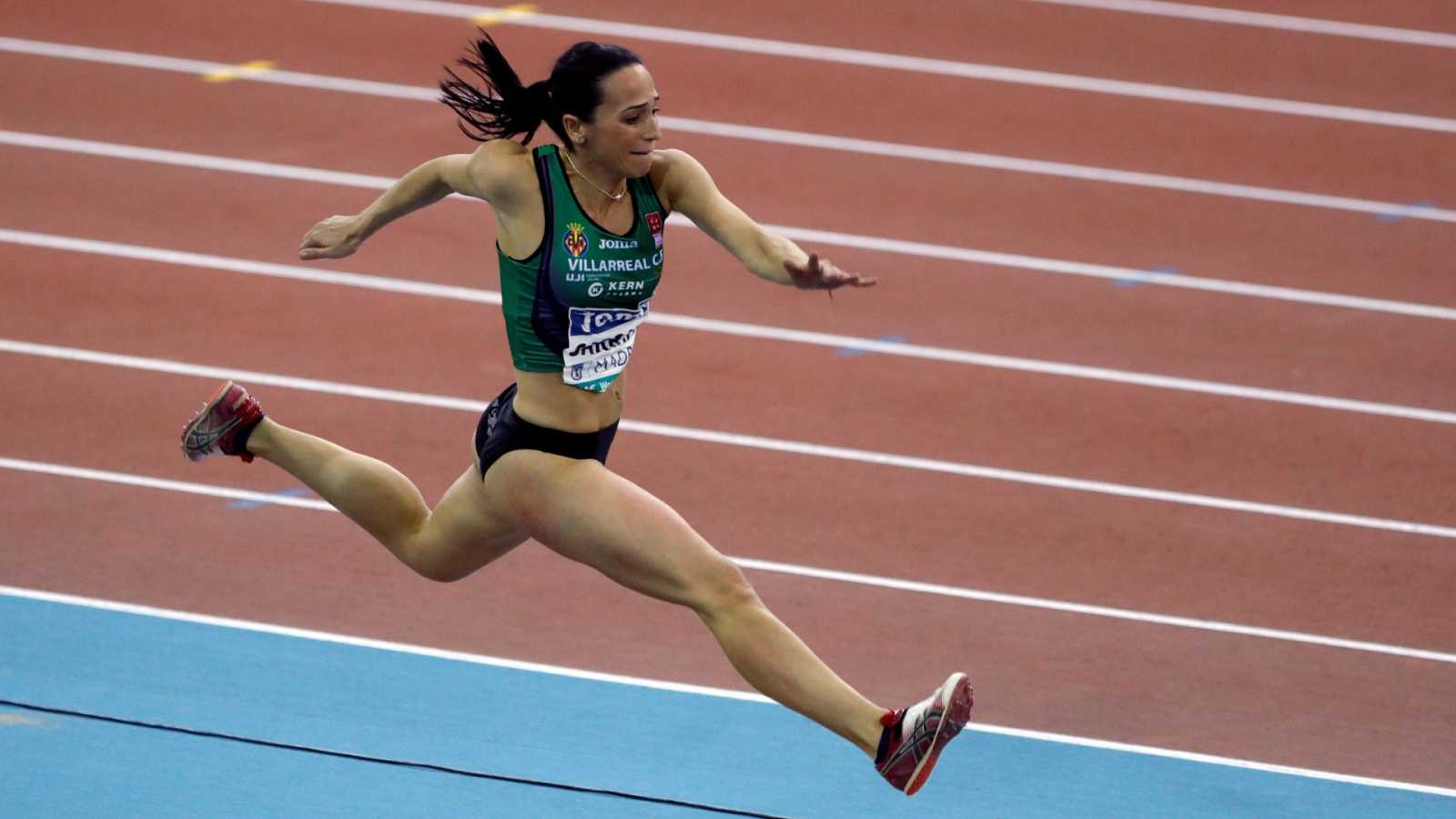Patricia Sarrapio, atleta, educadora y en un ERTE