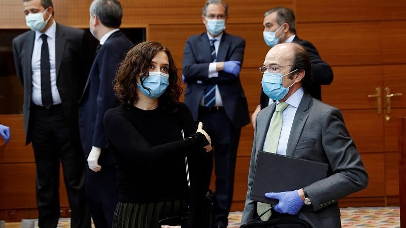 El cambio de fase en la desescalada abre una crisis política en Madrid