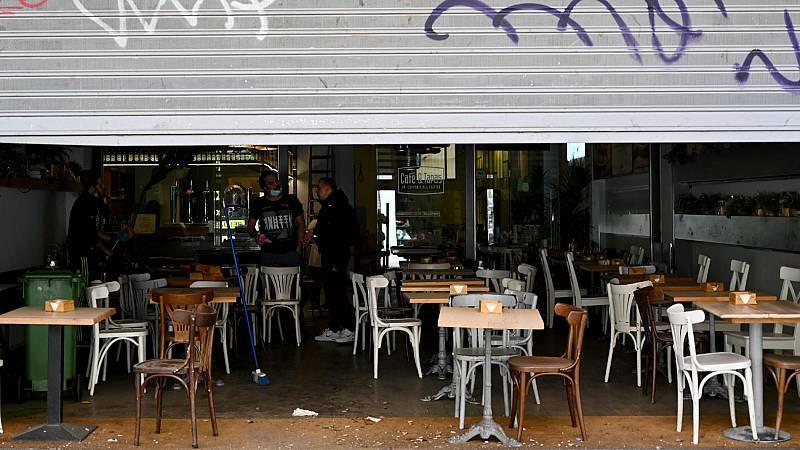 Así se preparan bares y comercios para poder abrir a partir de la próxima semana