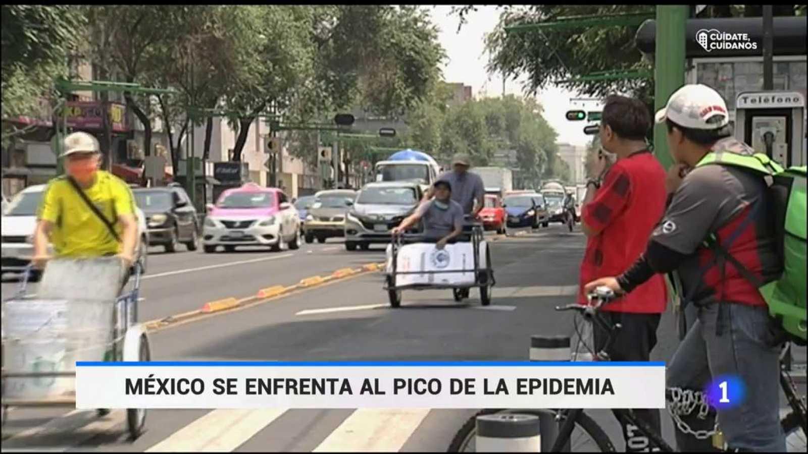 México avista el pico de la curva en su lucha contra el coronavirus
