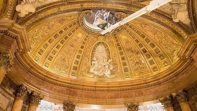 La Basílica del Pilar de Zaragoza se prepara para su reapertura ante la pandemia