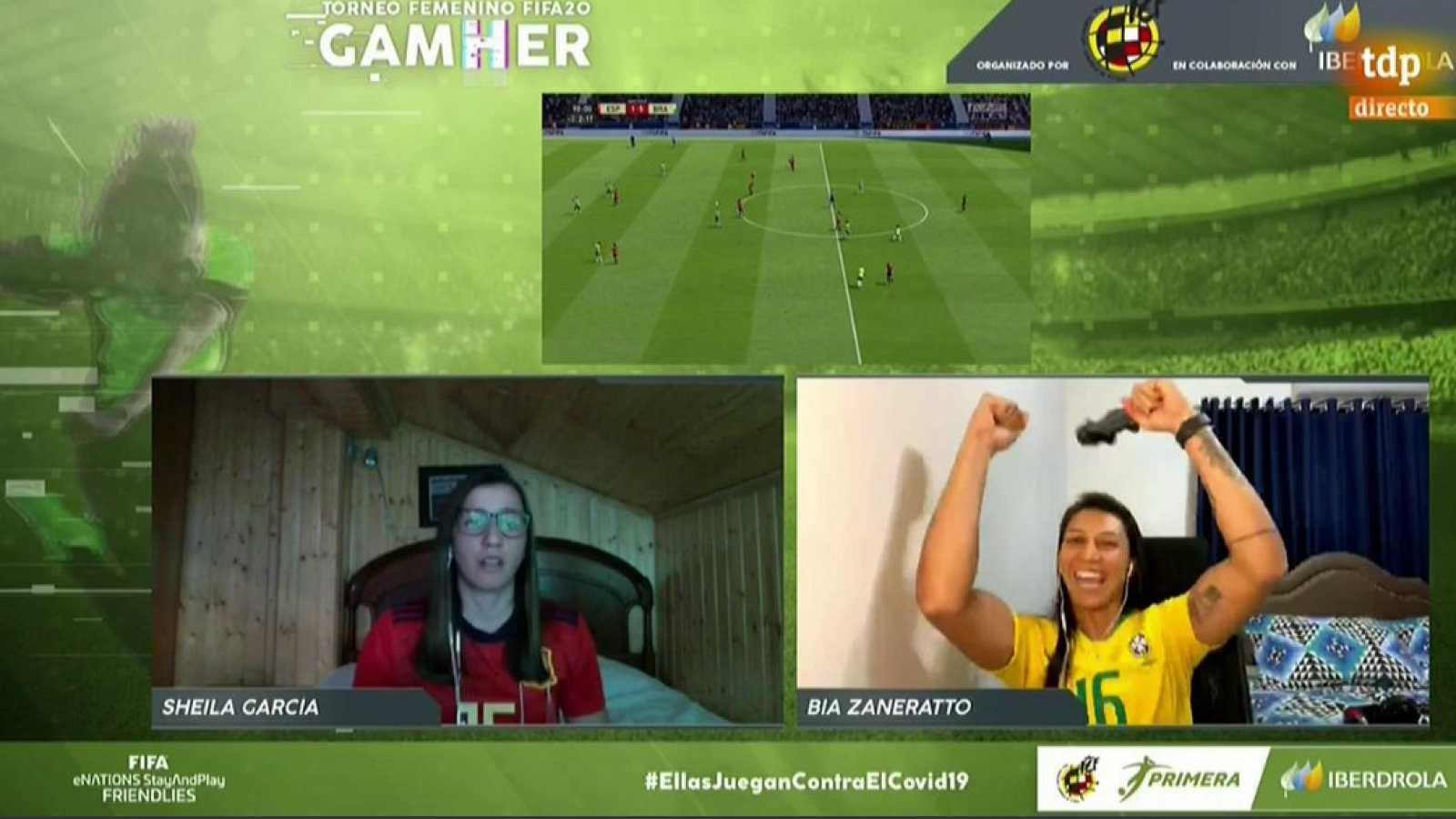 Vídeo | Resumen de la final internacional 'GamHer': España 1-5 Brasil