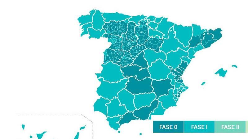 Fernando Simón explica qué territorios pasan a la Fase 1