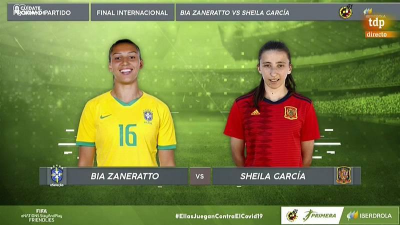 e-games - Gamher Fútbol Torneo Femenino FIFA 20 - Final Internacional: España - Brasil - ver ahora