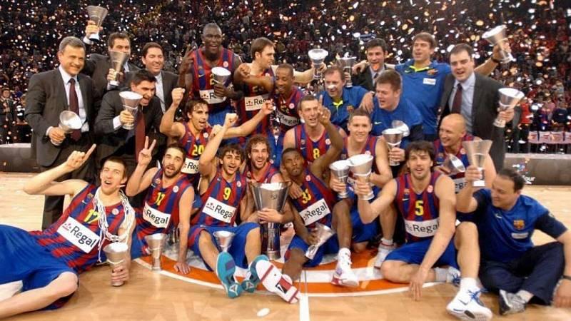 Baloncesto - Especial 10 Años Barça Campeón. Documental 'Siempre nos quedará París' - ver ahora