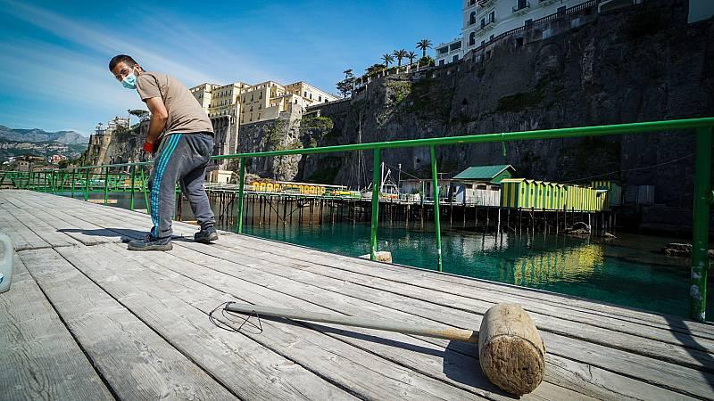 Italia se prepara para abrir las playas