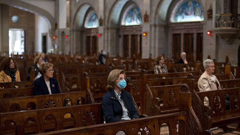 Las iglesias se preparan para reabrir pero con aforo reducido