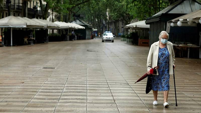 Ancianos de una residencia de Barcelona resisten al COVID-19
