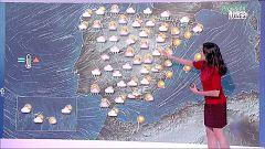 Tiempo revuelto con lluvias y tormentas en varias zonas de la Península