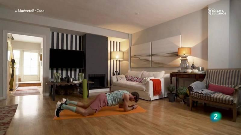 Muévete en casa - ¡Pon en forma el glúteo y el abdomen!