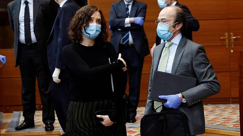 La Comunidad de Madrid estudia hacer obligatorio el uso de mascarillas en espacios públicos