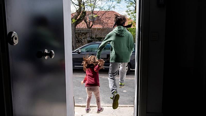 Las dificultades de los padres con sus hijos en la vuelta al trabajo
