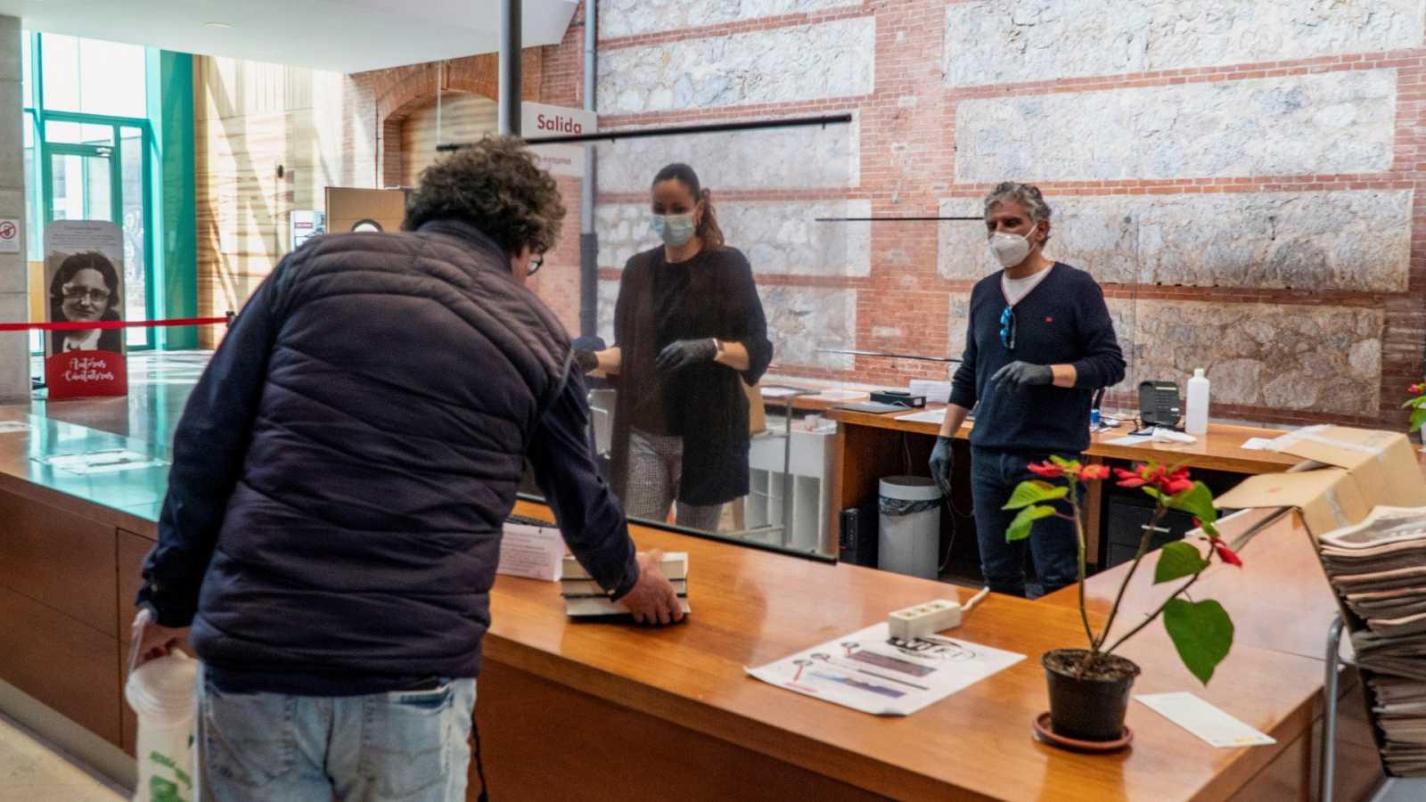 Las bibliotecas de las localidades que han pasado a la Fase 1 ya prestan libros