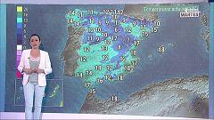 Precipitaciones generalizadas en todo el país, localmente fuertes en el sureste