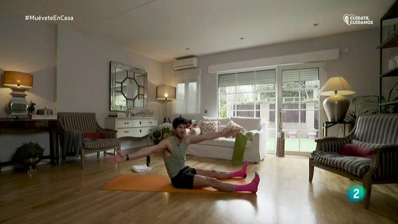 Muévete en Casa - ¡Pilates para tonificar el cuerpo!