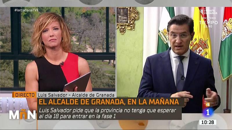 """Luis Salvador, alcalde de Granada: ''El Gobierno no está tratando a todos los territorios por igual"""""""