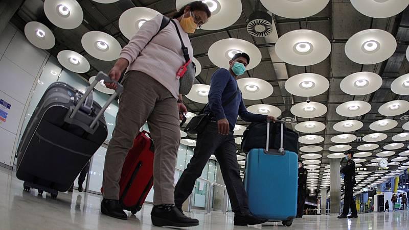España establece una cuarentena obligatoria de 14 días para viajeros procedentes del extranjero