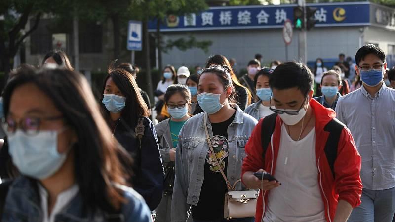 China refuerza la seguridad por los contagios