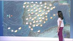 Lluvias y tormentas en buena parte del país y descenso térmico en Baleares