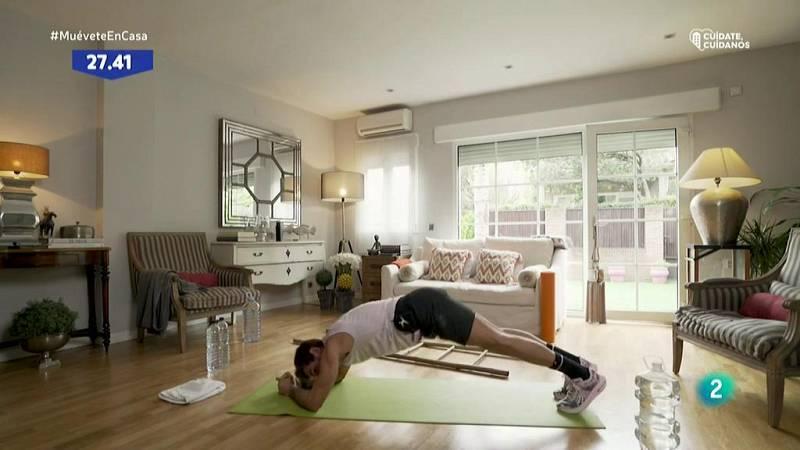 Muévete en casa - Circuito de cardio y fuerza 1