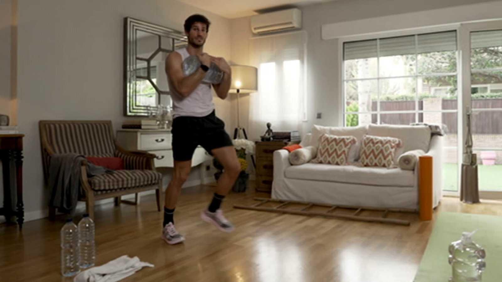 Muévete en casa - Programa 38 (Cardio y fuerza) - ver ahora