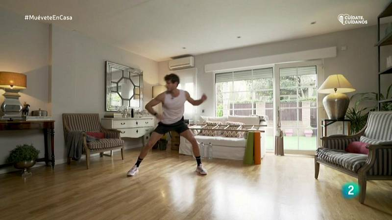 Muévete en casa - ¡Calentamiento intenso de cuerpo entero!