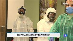 Reivindicaciones del colectivo de enfermeria, uno de los más expuestos en la pandemia