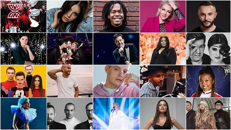 Eurovisión 2020 - Eurovision Song Celebration: Semifinal 1 - Ver ahora