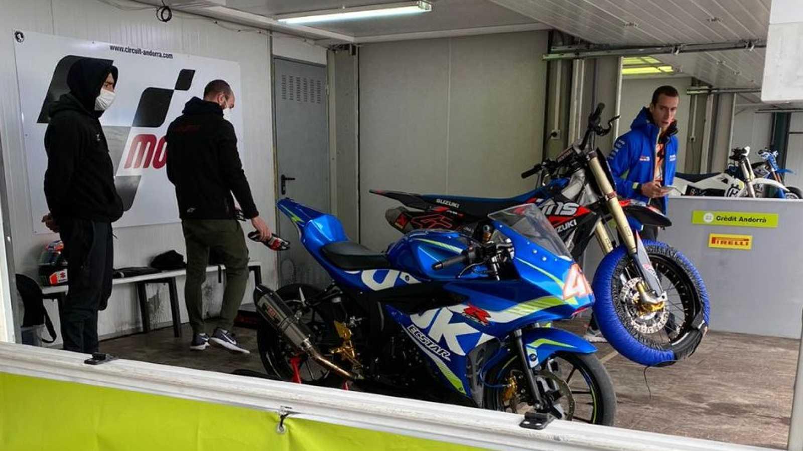 Andorra, sede de los primeros entrenamientos de los pilotos de MotoGP