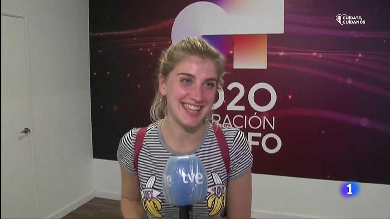 OT 2020 - Samantha cuenta sus sensaciones a la llegada a la Academia de OT 2020