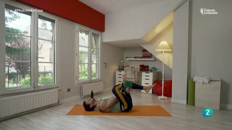 Muévete en casa - ¡Estira espalda, cuello y glúteos con yoga y pilates!