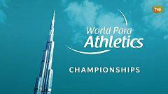 TDP en casa - Atletismo - Campeonato del Mundo Paralímpico 2019, en Dubái
