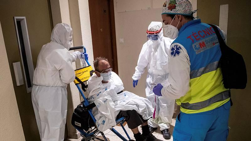 El número de muertos con coronavirus repunta a 217 y se superan los 500 contagios en un día