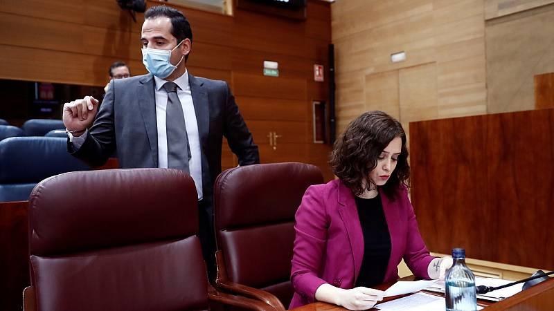 """El PP de la Comunidad de Madrid apunta a un soplo de Cs sobre el piso de Ayuso y éstos lo tildan de """"falso"""""""