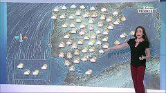 Lluvias generalizadas y tormentas fuertes en el centro y este peninsular