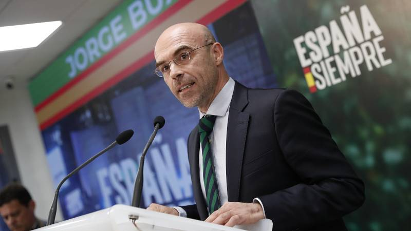 """Jorge Buxadé: ''Animamos a que los españoles se manifiesten respetando las medidas de distanciamiento social"""""""