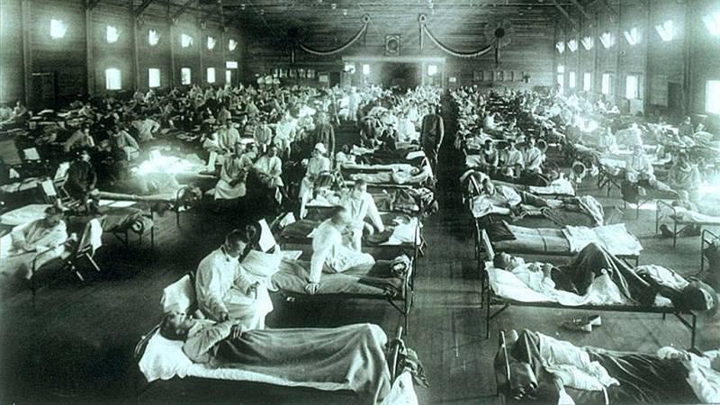 """La epidemia de gripe de 1918 tuvo una segunda ola más letal y una tercera """"intermedia"""""""