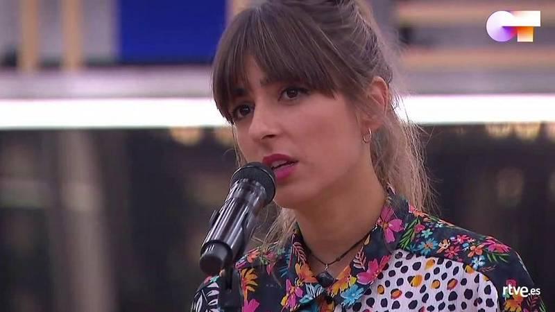 """Maialen canta """"Sargento de hierro"""", de Morgan, en el primer pase de micros de la """"Gala 10"""" de Operación Triunfo 2020"""