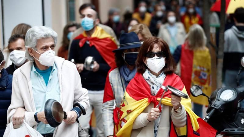 Se multiplican las protestas en contra del Gobierno por su gestión de la crisis del coronavirus