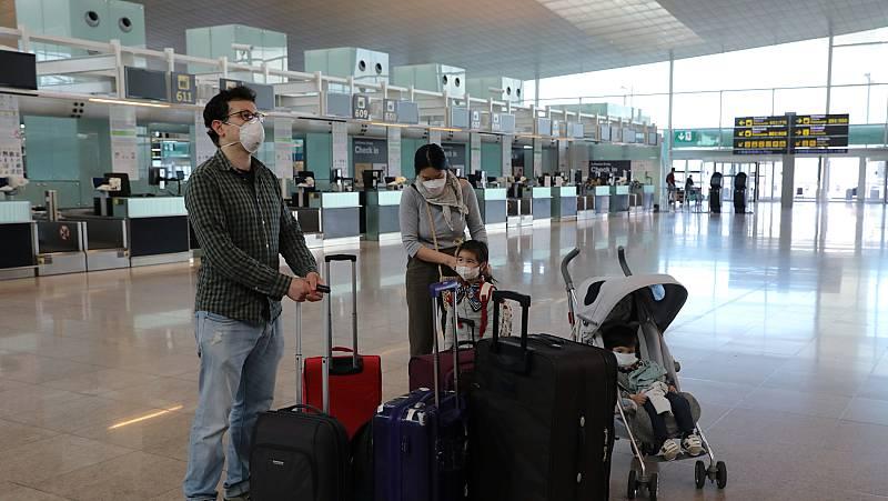 Vídeo: Sanidad designa ocho aeropuertos más como puntos de entrada