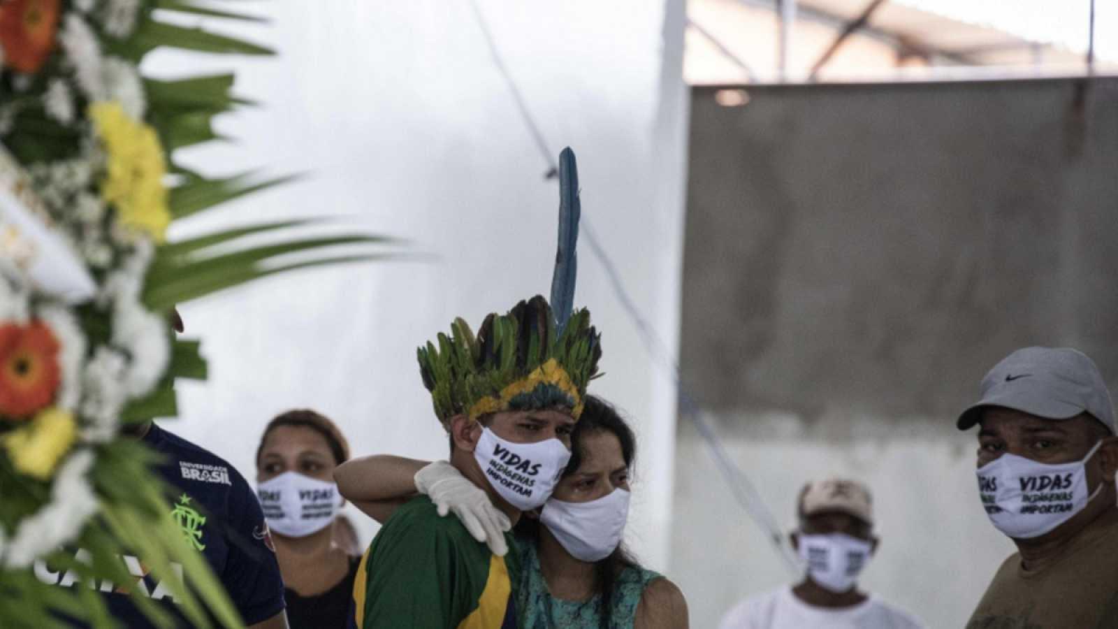 Brasil supera los 15.000 muertos con coronavirus y ya es el cuarto país con más contagios del mundo