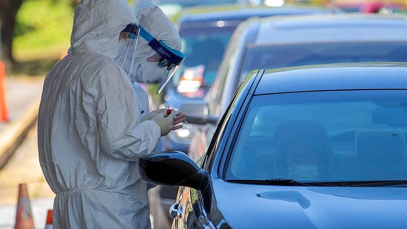 La pandemia de coronavirus dispara el uso del coche en Estados Unidos