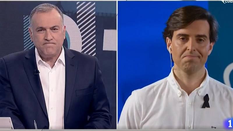 """Pablo Montesinos en Los Desayunos TVE: """"Es falso que la alternativa al estado de alarma sea el caos"""""""