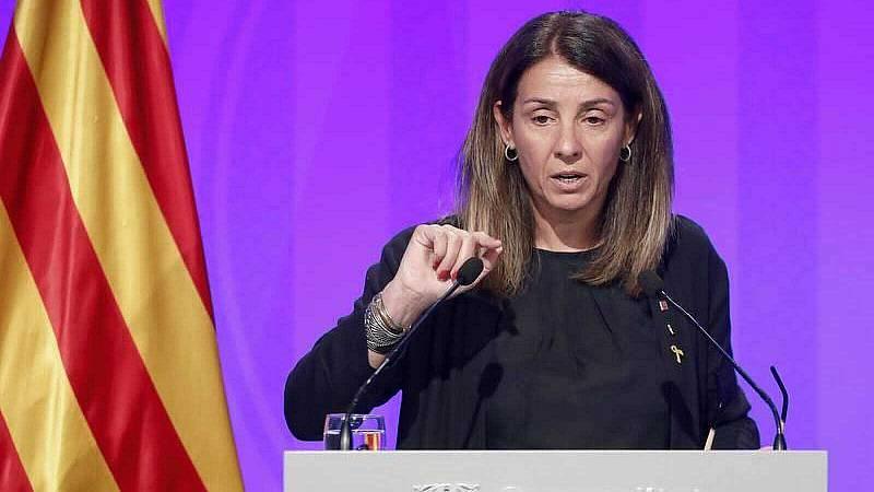 Meritxell Budó pide al Gobierno que devuelva a Cataluña todas las competencias, también la de Sanidad