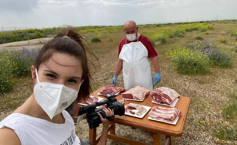 ¡Clase de corte de carne!
