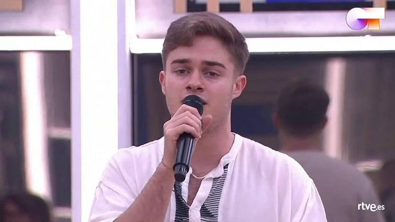 "Gèrard canta ""Pillowtalk"", de Zayn Malik, en el segundo pase de micros de la ""Gala 10"" de Operación Triunfo 2020"
