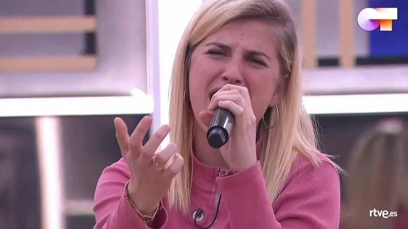 """Samantha canta """"Sueños rotos"""", de La Quinta Estación, en el primer pase de micros de la Gala 10 de Operación Triunfo 2020"""