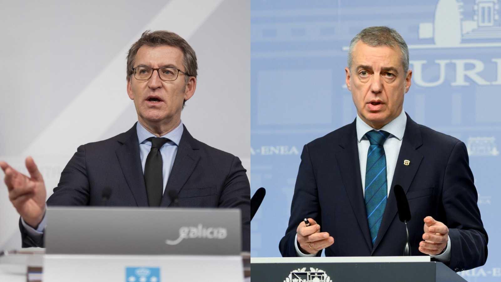 Feijóo y Urkullu convocan elecciones gallegas y vascas para el 12 de julio